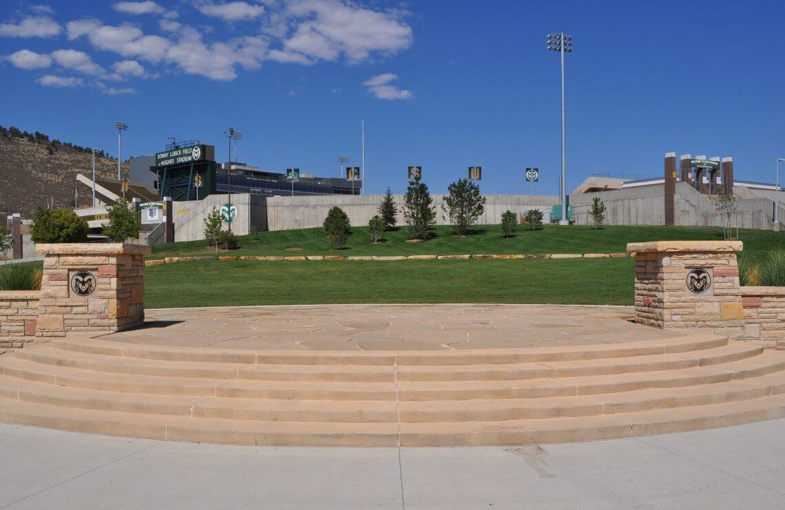 Colorado State University Ram Town