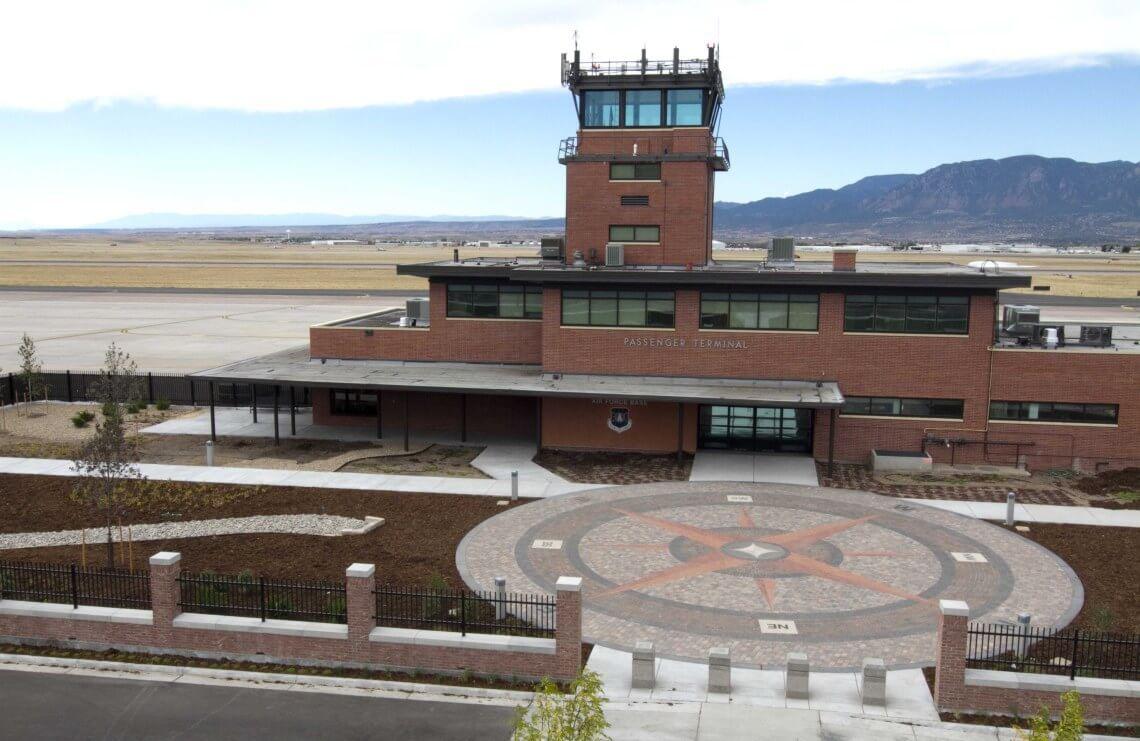 Repair Ops Parking, AT/FP, Peterson AFB, Colorado
