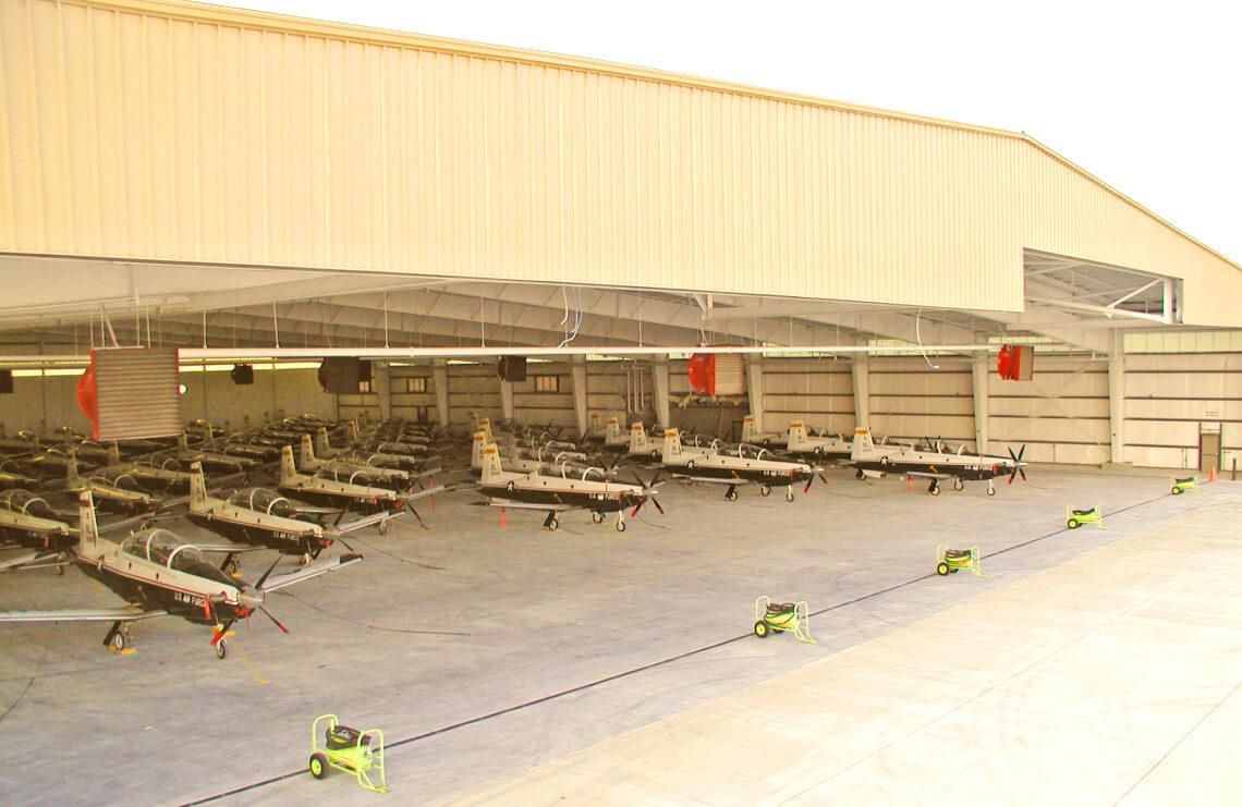 T6A Trainer Hangar