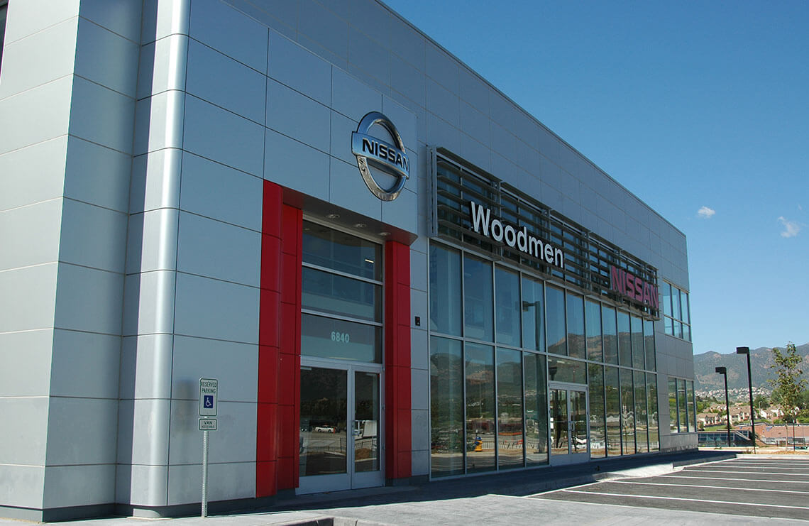 Woodmen Nissan New Car Facility