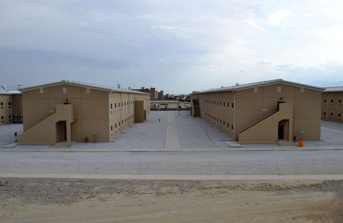 Barracks 15 18 Bagram Air Field Bryan Construction