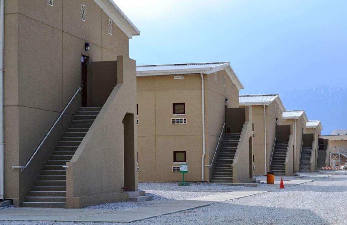 Barracks 15 18 Bagram Air Field Bryan Construction