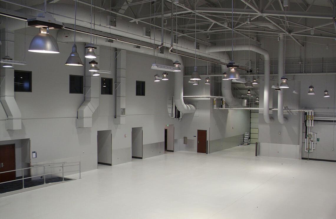 Aircraft Maintenance Shop Renovation Building 208