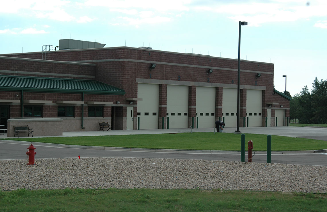 Main Fire Station at Fort Carson