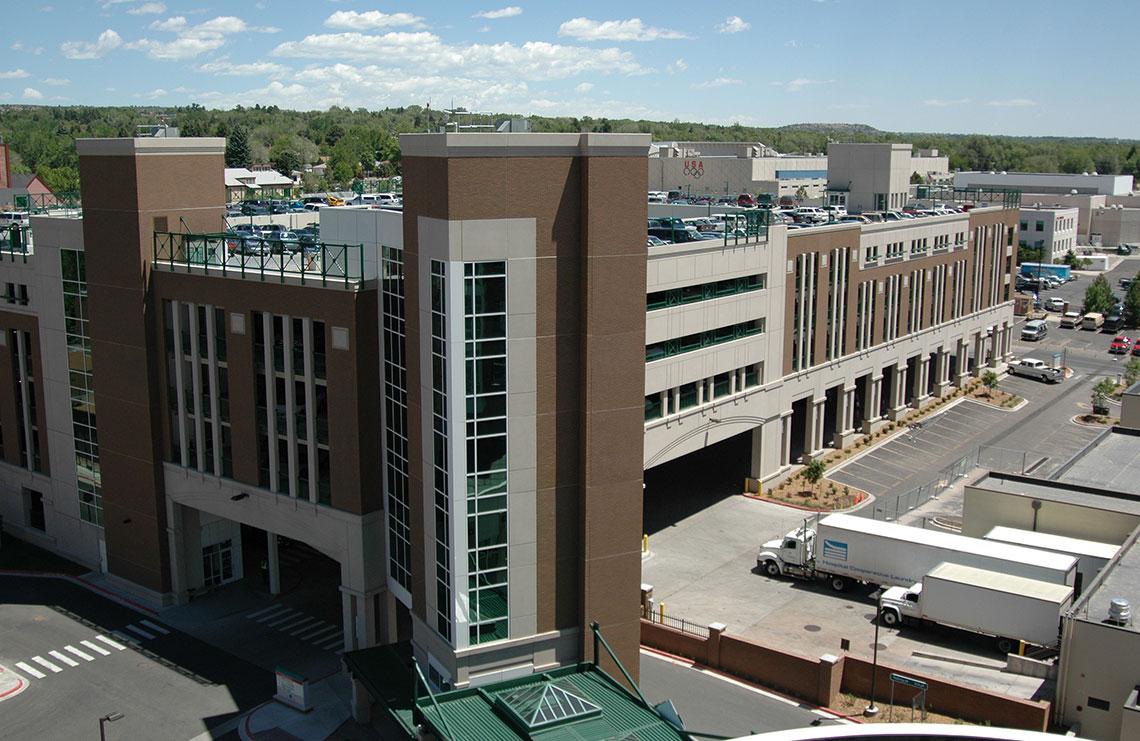 Memorial Hospital Parking Garage