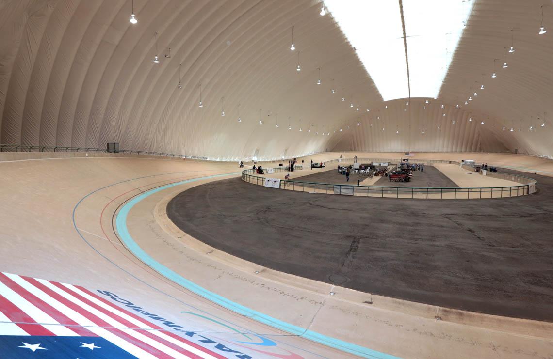 U S Olympic Training Center Velodrome Cover Bryan
