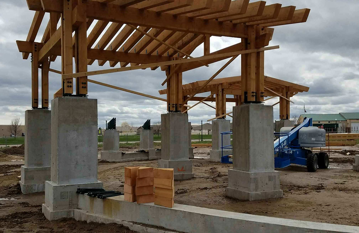 Eaton Town Square Bryan Construction