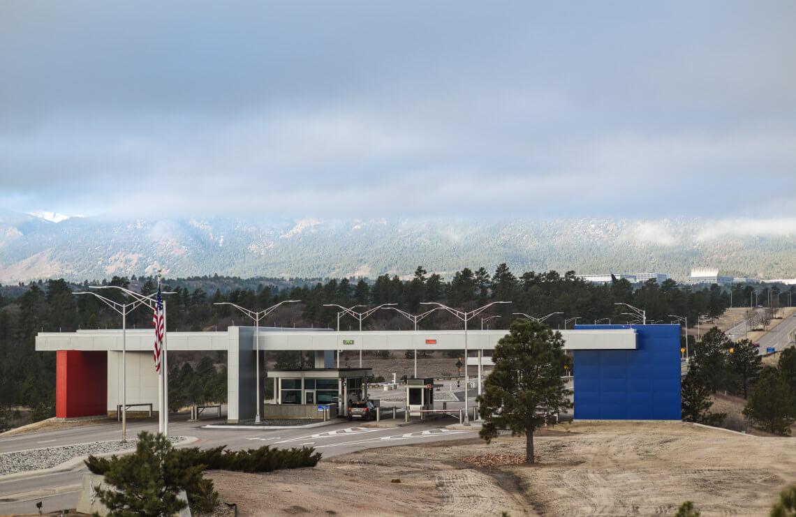U.S. Air Force Academy Entry Gate
